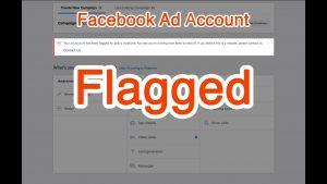 facebook ad account flagged reasons
