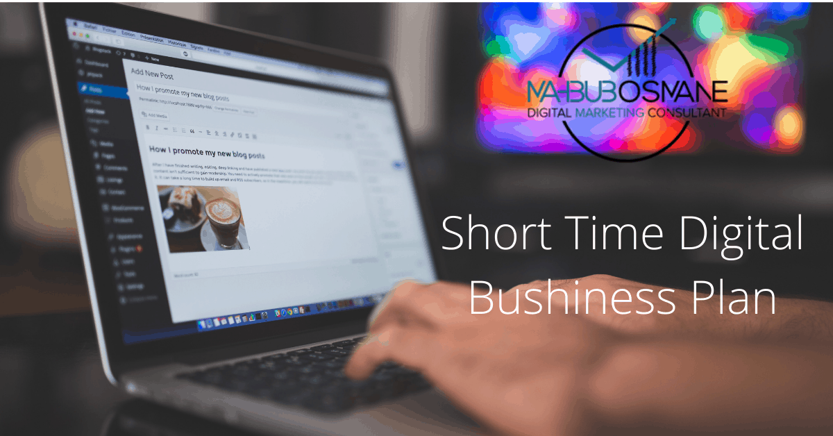 Short Time Digital Bushiness Plan